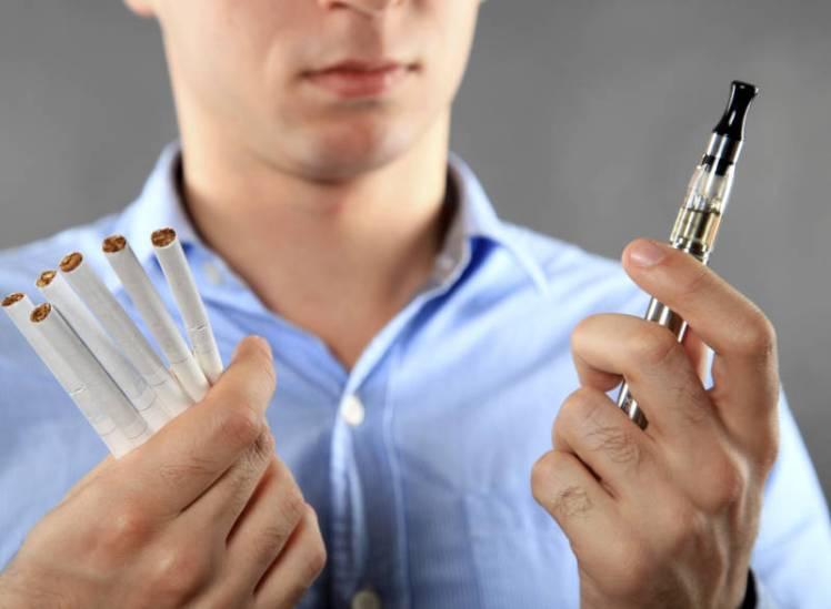 e cig vs smoking